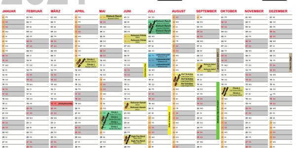 Turnierkalender 2021